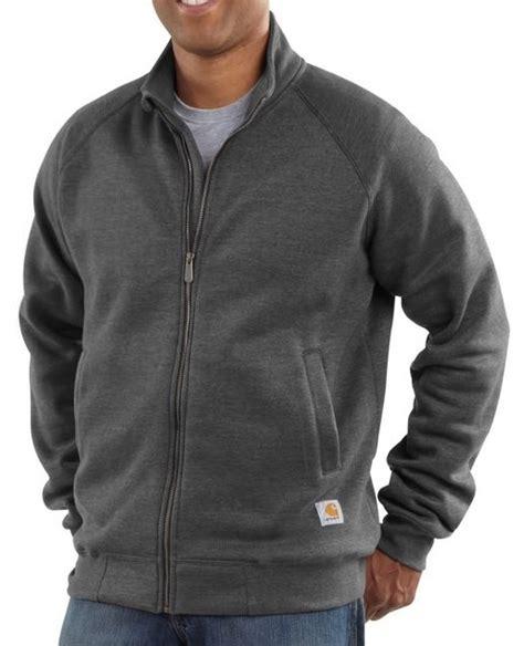 carhartt midweight mock neck zip front sweatshirt  mammothworkwearcom