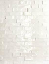 handmade subway tile De Fazio Subway Handmade White tile love the way handmade ...
