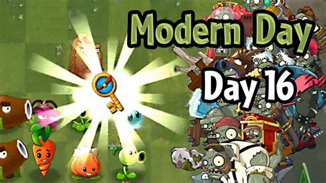 plants vs zombies modern plants vs zombies 2 modern day day 16 ultimate battle