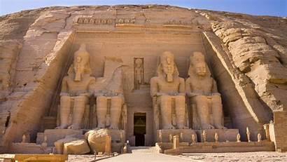 Egyptian Egypt Simbel Abu Hieroglyphics Temple Wallpapers