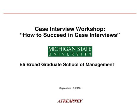 interview case ppt case interview workshop how to succeed in case