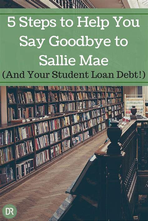 steps     goodbye  sallie mae