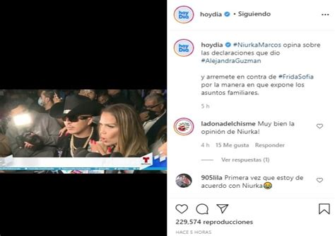 Frida Sofía Niurka arremete declaraciones contra Alejandra ...