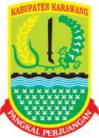 karawang pangkal perjuangan arti lambang logo kabupaten