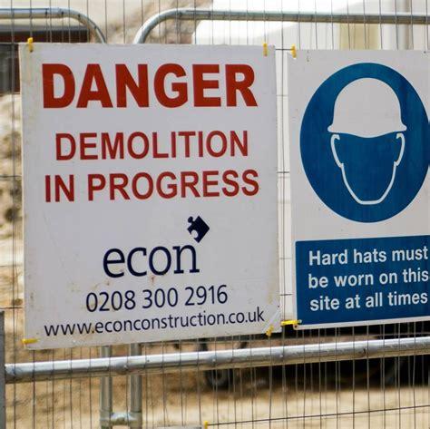 asbestos site demolition demolition suits show  unit