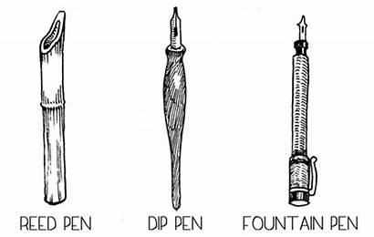 Pens Types Drawing Tools Know