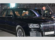 Inspecting the new Aurus cars • President of Russia
