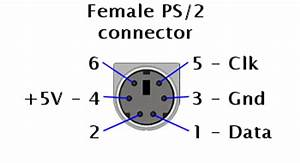 imageps2 connectorpng c64 dtv hacking wiki With usb to ps 2 keyboard adapter wiring diagram usb to ps 2 wiring diagram