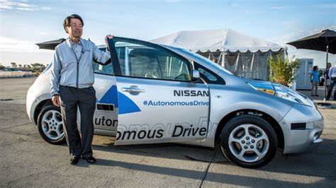 Nissan Driverless 2020 by Nissan Announces Plans To Release Driverless By 2020