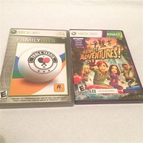 Juegos ps4 kinect / juegos ps4 kinect : Kinect Adventures Y Table Tennis Xbox 360 - $ 120.00 en Mercado Libre
