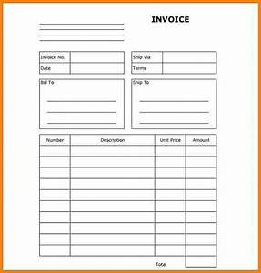 10 blank invoice printable free invoice letter With invoice printer price
