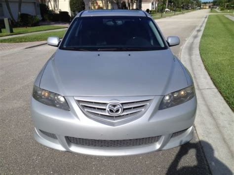 buy car manuals 2004 mazda mazda6 security system sell used 2005 mazda 6 s hatchback 5 door 3 0l in pompano beach florida united states for us