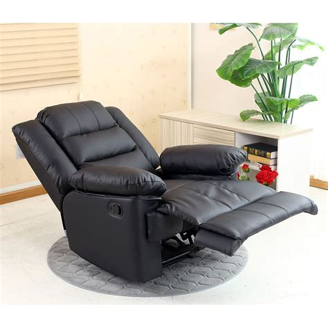 reclining lounge chair loxley leather recliner armchair sofa home lounge chair