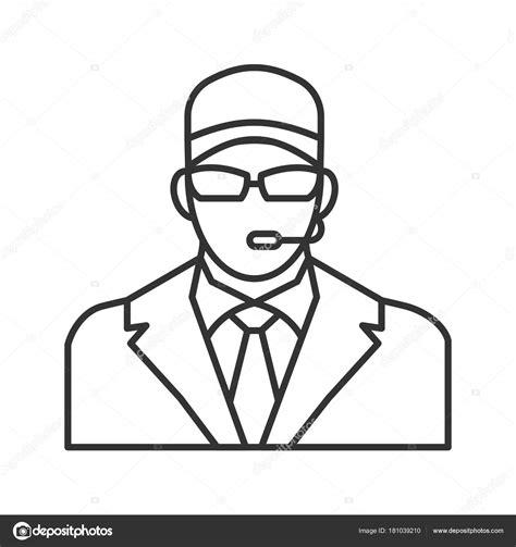 Imágenes: guardias de seguridad para colorear Guardia de