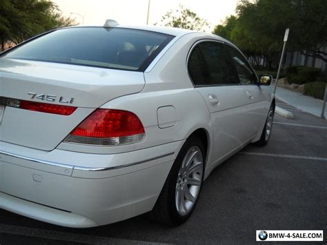 2004 Bmw 7-series For Sale In United States