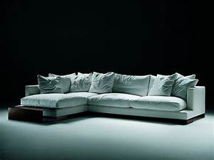 modular corner sofa upholstered in leather or fabric long With long island sectional sofa grey fabric