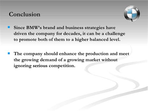 international management coursework bmw