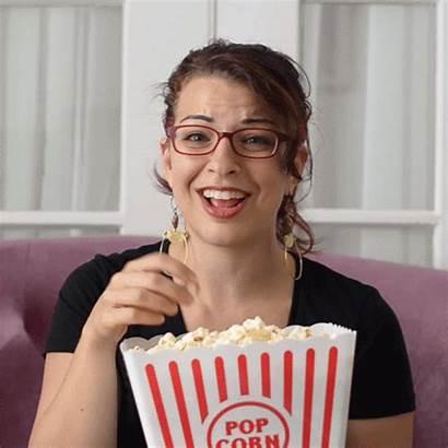 Popcorn Anita Sarkeesian Gifs Amusing Finds Random