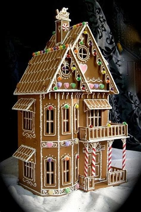 awesome gingerbread houses 15 amazing gingerbread houses just short of crazy