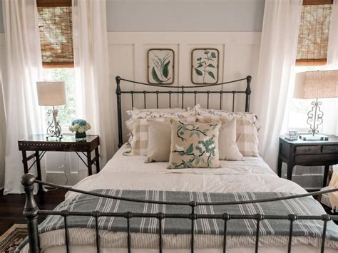 Home Decor Ideas For Bedroom by 41 Beautiful Farmhouse Master Bedroom Design Ideas