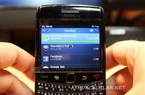 descargar  instalar whatsapp en blackberry  ayuda celular