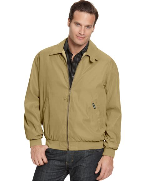 light bomber jacket mens weatherproof lightweight bomber jacket in natural for men