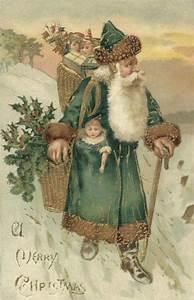 Vintage Father Christmas | Santa | Pinterest | Vintage ...