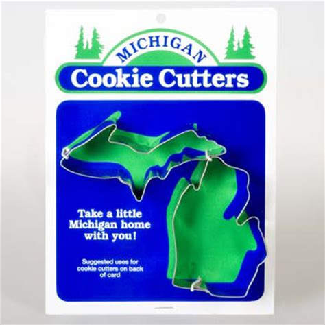 michigan cookie cutter    michigan