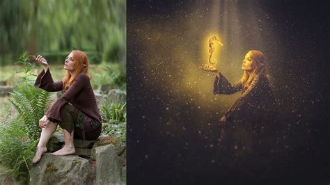 photoshop tutorial photo manipulation lighting effects