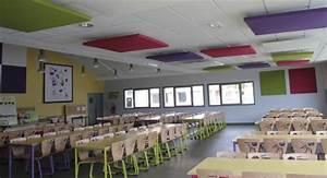 Isolation Acoustique Salle De Classe Cole Cantine