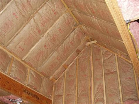 Insulating Cathedral Ceilings With Spray Foam by Insulation Bob Vila