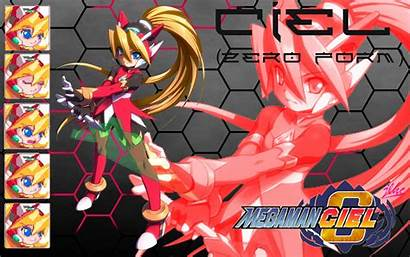 Megaman Zero Ciel Wallpapers Form Resolution Deviantart