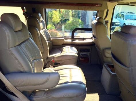 purchase   ford  explorer conversion van fully