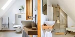 Come organizzare gli spazi nel bagno in mansarda Mansarda it