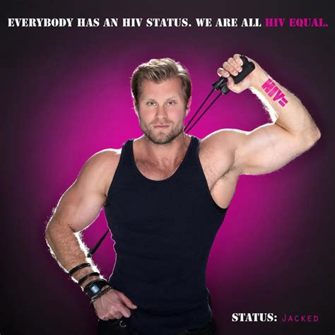 hiv equal campaign  man crush blog