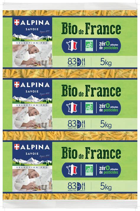 Toutes les plus grandes maisons italiennes. Alpina Savoie lance une gamme de pâtes Bio de France garantie sans utilisation de pesticide ...