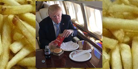 trump aide  president  bunless  mcdonalds order