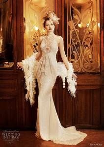 roaring 20s inspired wedding gown love francophile and With roaring 20s wedding dress