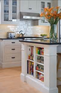 kitchen island accessories small shelves built into kitchen island for books and accessories
