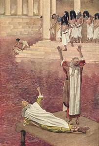 Satellite Image Of Red River Nile Evokes Biblical Legend