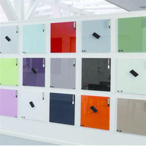 bureau verre noir tableau magnétique en verre pour affichage et écriture