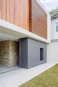 facade de maison moderne 6 bardage claire voie vertical With google vue des maisons 6 maison contemporaine avec bardage en bois noir