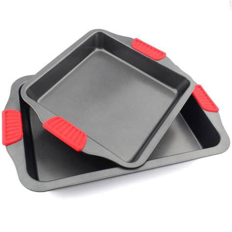 friendly steel baking pan durable stick non carbon consumer tools