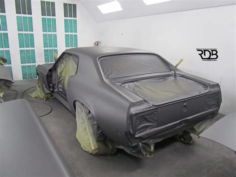 In House Paint Booth, Here Is A Matte/flat Grey Paint Job