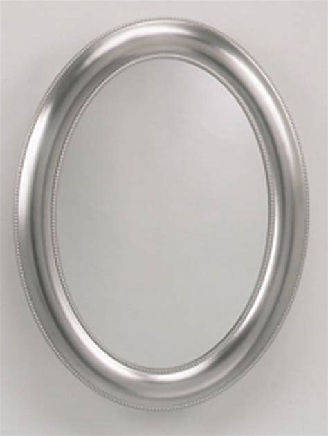 zenith brushed nickel medicine cabinet zenith products stmv2230 brushed nickel beaded oval
