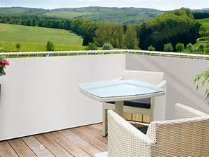 Balcon Pare Vue : brise vue toile balcon brise de vue balcon idmaison ~ Premium-room.com Idées de Décoration