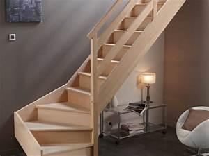 escalier leroy merlin decouvrez les modeles 10 photos With delightful peindre rampe escalier bois 10 prix dun escalier en bois