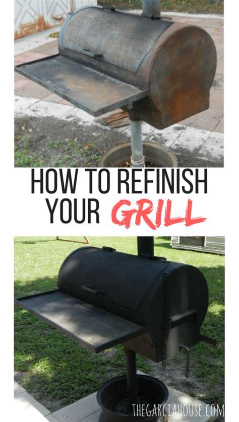 grill refinish refresh improvement backyard check want posts these iron