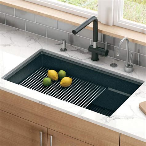 peak large single bowl undermount kitchen sink