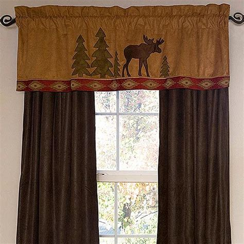 moose lodge window treatments cabin place